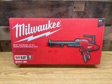 Milwaukee 2441-20 M12 12-Volt 10-Ounce Caulk And Adhesive Gun - Bare Tool