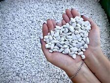 20kg Decorative White Garden Gravel Stones Chippings Limestone Pot Toppers