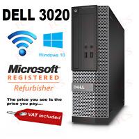 Dell Optiplex 3020 SFF PC i7 4th Gen Upgrade Options
