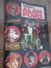 Album + set completo Figurine  Inedito ALAN FORD no n 1