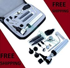 Newent Earnose Ampthroat Diagnosticotoscopeophthalmoscope Set Withzipper Case