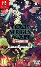 Travis Strikes Again No More Heroes & Season Pass Nintendo Switch * SEALED PAL *