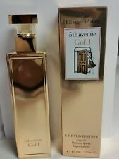 5Th Avenue GOLD Edition by Elizabeth Arden Women 4.2 oz /125 ml New and Sealed