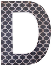 Something Different Letter D Wall Plaque