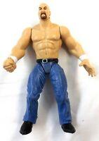 VTG 1999 JAKKS STONE COLD STEVE AUSTIN WWE WWF Star Action Figure Toys Collector