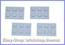 LEGO 4 x plaque (2 x 3) Gris - 3021-Plate plates light bluish gray-Neuf/New