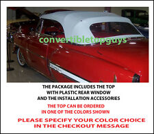 CHEVROLET CONVERTIBLE TOP DO IT YOURSELF PACKAGE 1953-54