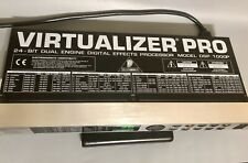 Behringer Virtualizer Pro DSP 1000P 24-Bit Dual Engine Digital Effects Processor