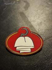 Disney Pin What's my Name ID Tag Cast Exclusive Captain Hook