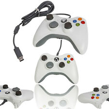 New Wired USB Game Pad Controller For Microsoft Xbox 360 White Free Shipping