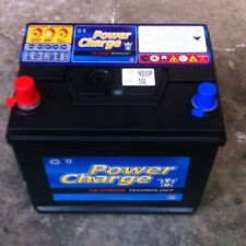 CAR BATTERY POWER CHARGE NS50P 550CCA CARS TRUCKS BATTERYS FORKLIFT NEW