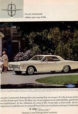 1966 Lincoln Continental Sedan 2-Door  PRINT AD