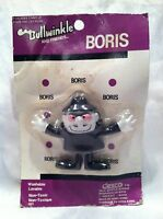 BORIS  Bullwinkle and Friends Bendable Action Figure Toy VINTAGE 1986 NIP