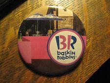 Baskin Robbins Ice Cream Shop Store Advertisement Logo Pocket Lipstick Mirror