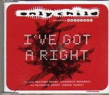 (CF423) Only Child, I've Got A Right - 2000 CD