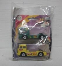 Siku 2000 Racing Truck Renntruck-Mercedes and Renntruck-IVECO - Twin Pack