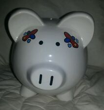 "UC PIGGY BANK BOYS PIG AIRPLANES TRUCKS BOAT CLOUDS STARS ""TOYS"" BABY TODDLER"