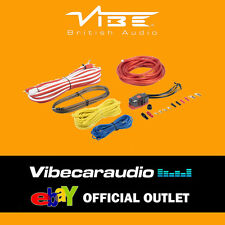 VIBE Cl8awkt 1500 Watts 8 AWG Gauge Car Amplifier Amp Sub Woofer Full Wiring Kit