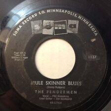 "FENDERMEN 45 Mule Skinner Blues / Torture 1960 ROCKABILLY ROCK&ROLL Vinyl 7"" VG+"