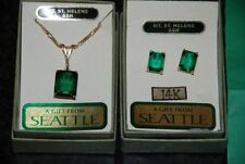 Gold Emerald Fine Jewellery Sets