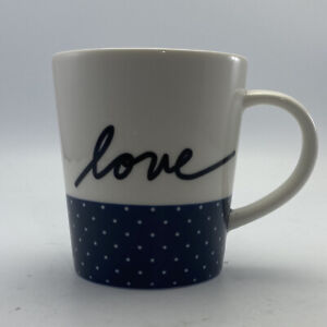 ED Ellen DeGeneres~Coffee Mugs~16.5oz~By Royal Doulton London~LOVE~Porcelain~