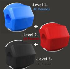 3x Jaw Line Exerciser toner trainer | Like Jawzrsize JawlineMe - Level 1+2+3