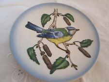 "Goebel Wildlife Second Edition Bird Blue Titmouse No 2 7 1/2"" Diameter 1974"