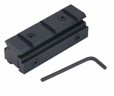 Picatinny 11mm Adapter Montage Erhöhung Schiene 2 in 1 für Zielfernrohr/Optik