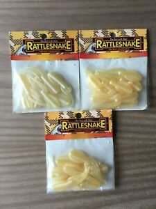 3 - Rattlesnake Tackle - 1/16 oz. Jigs - Pearl