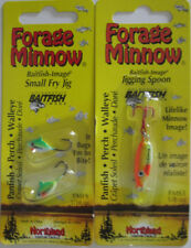 Northland Tackle Ice Fishing Jigs - Jigging Spoon & Small Fry Jig