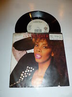 "DONNA SUMMER - This Time I Know It's For Real - 1989 7"" Solid Vinyl Single"