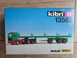 Kibri 13562 MAN mit Brückenauflieger H0 Neu & OVP