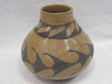 "Hand Coiled Casas Grandes Mata Ortiz Pottery 7.5"" x 7"" x 7"" artist signed"