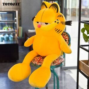 60cm Huge Cute Garfield Cat Plush Stuffed Toy Super Soft Plush Cartoon Figure