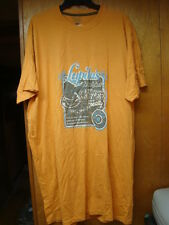 Vintage New Nos Mens Peach Us Star Lupitas Breakfast Tee Shirt Size 2Xl