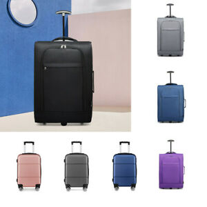 20'' Travel Luggage Cabin Check In Hold 4 Wheel Trolley Hand Suitcase