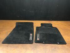 2009 Nissan 370Z Nismo Genuine Front Floor Mat Carpet Pair Set OEM