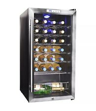 Wine Refrigerator Storage with Interior LED Lightning 27 Bottle Rack Compressor