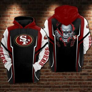 San Francisco 49ers Unisex 3D Printed Casual Hoodie Pullover