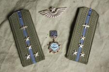 USSR Soviet Red Army Uniform AIR FORCE Captain Shoulder Boards + BONUS! RARE!