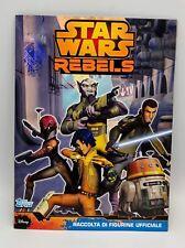 Star Wars Rebels album completo Topps disney complete full