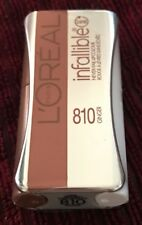 LOREAL Infallible Never Fail 24hr Lipcolour Lipstick #810 GINGER MIRROR COMPACT!