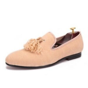 Casual Mens Suede Tassel Youth Low Heel Slip On Loafers Leisure Penny Shoes News