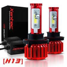 H13 9008 LED Headlight Kit High&Low Beam Plug&Play 240W 60000LM 6000K Xentec