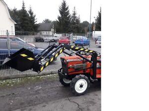 Frontlader mit Schaufel für Traktor Kleintraktor Kubota Iseki  alle Teile Anbau