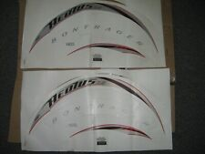 Single Wheel Decals for 2006 Bontrager Aeolus 6.5  Bicycle Cycling Stickers