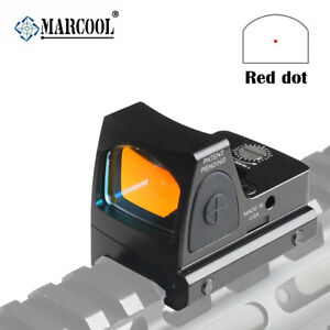 Tactical RMR Reflex Red Dot Sight Scope for Pistol Glock 17 19 with 20mm Mount