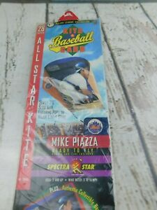 Vintage NOS Baseball Sled Kite Mike Piazza Spectra Star NEW 28""