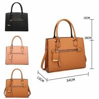 New Women's Designer Style Tote Bag Ladies Fashionable Shoulder Shopper Bag