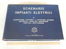 UNICO: IMPIANTI ELETTRICI FINO 1967 FIAT LANCIA FERRARI VESPA TRATTORI CAMION
